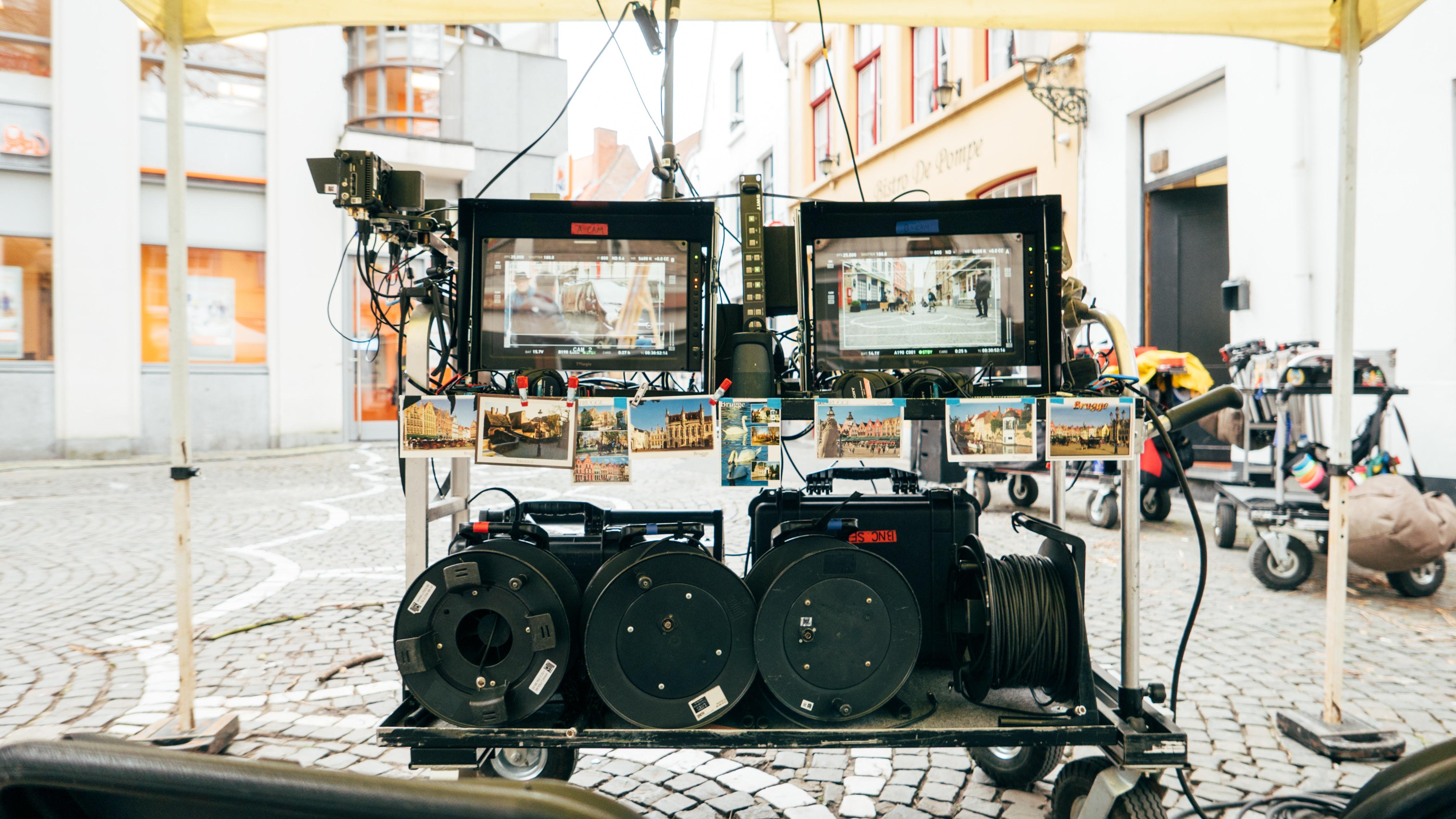Professional film equipment. Photo by Daan Stevens on Unsplash