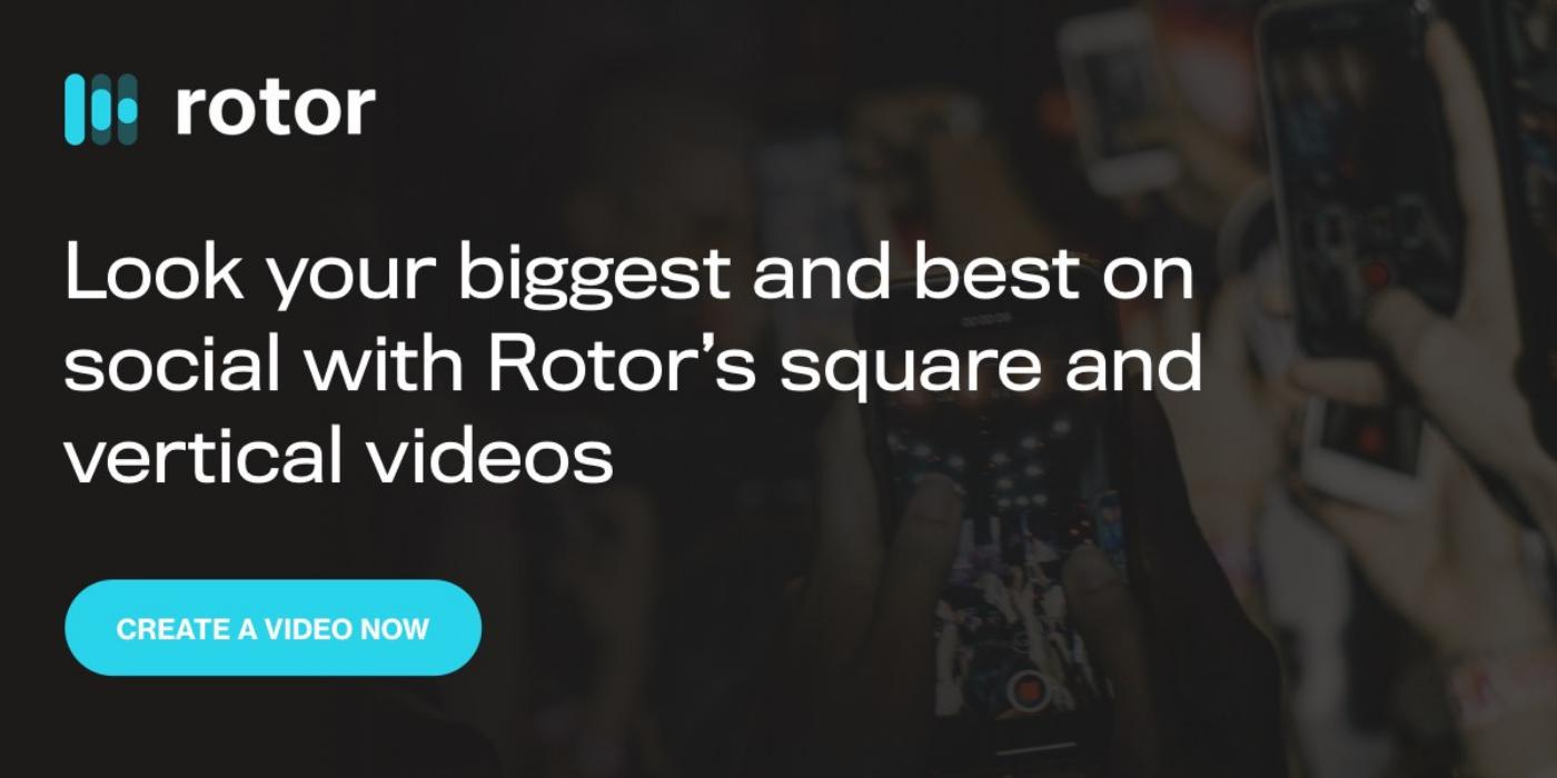 crop videos in Rotor Videos